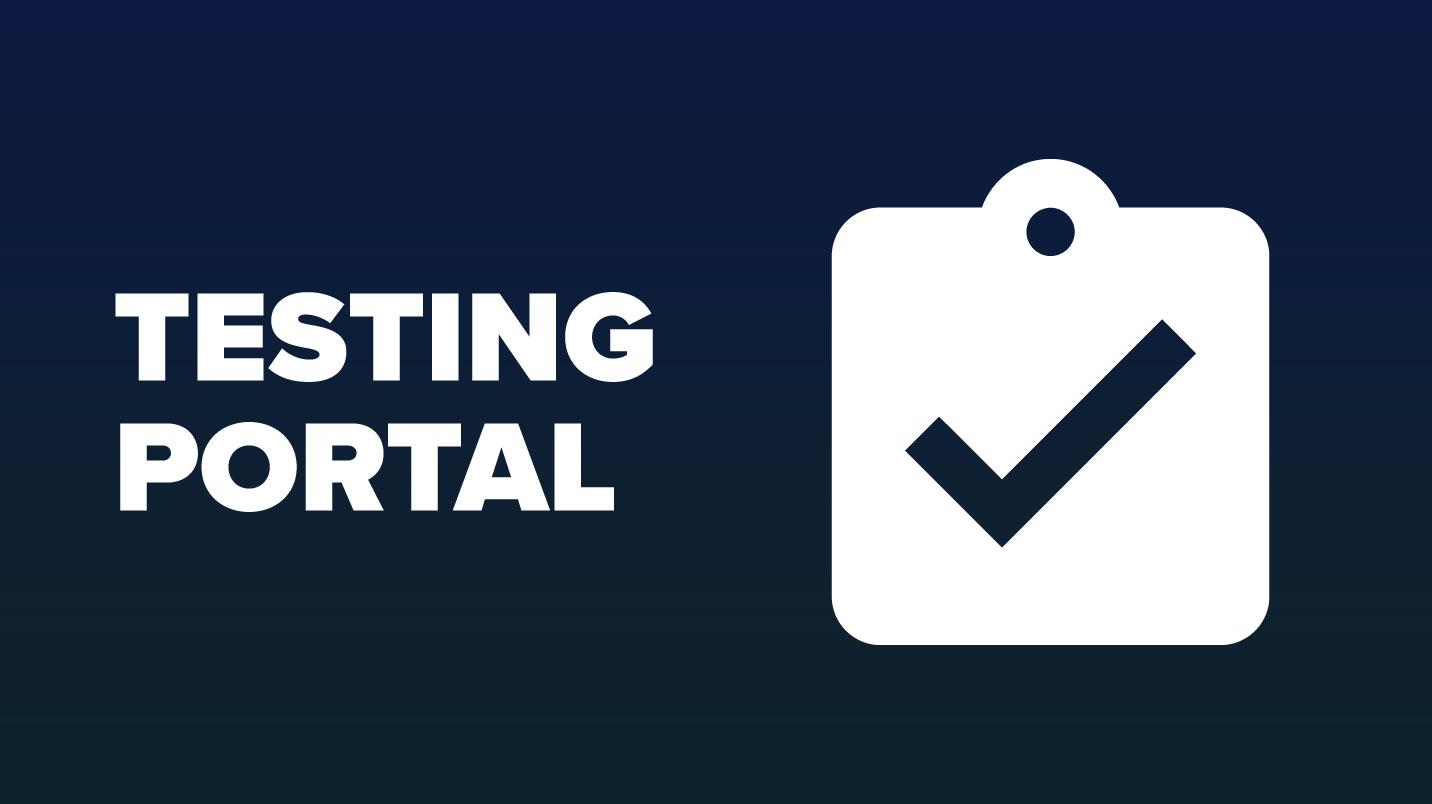Testing Portal